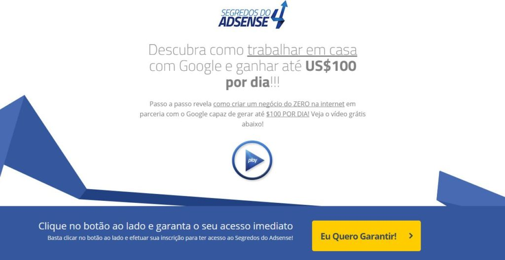 segredos do adsense 4.0